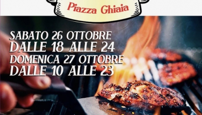 "In Piazza Ghiaia a Parma arriva lo street food con ""Wine, beer & grill"""