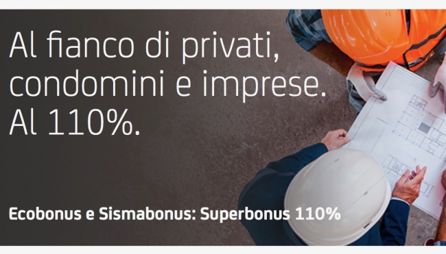 "UniCredit e CNA, sinergia per il ""Superbonus 110%"""