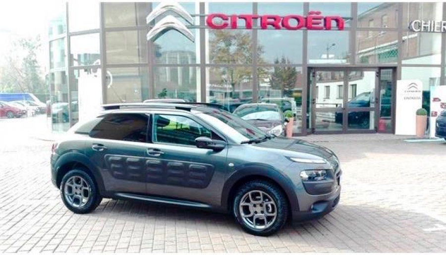 citroen c4 cactus bluehdi 100cv modello shine. Black Bedroom Furniture Sets. Home Design Ideas