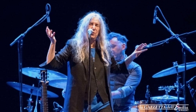 Patti Smith incanta il Teatro Regio - FOTO
