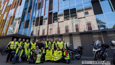 I Safety Bikers Parma all'Ospedale dei Bambini