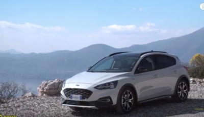 Prova su strada del nuovo crossover Ford Focus Active - Video