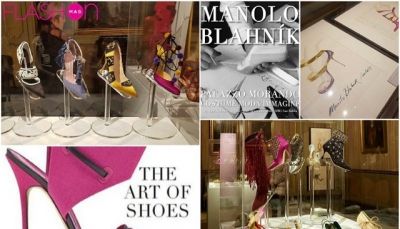 """The art of shoes"", la personale mostra retrospettiva di Manolo Blahnik"