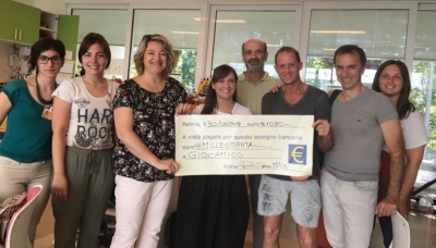 "Da Group Cycling Eurotorri 1.100€ per ""Giocamico"""