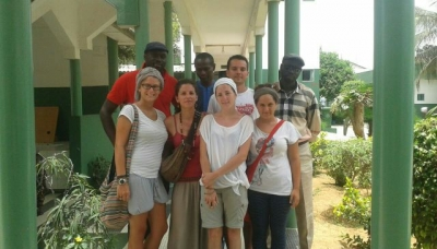 Kamlalaf, visita all'ospedale di Yoff, in Senegal