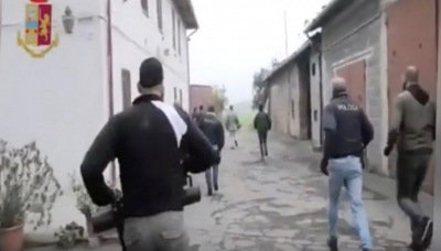 Operazione Paleonca Game Over - video dell'incursione e dell'arresto
