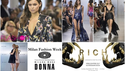 Milano Fashion Week, RICH tra incanto e provocazione