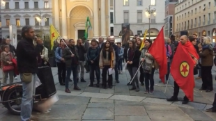 La manifestazione di Parma per dire NO all'invasione turca - foto e video