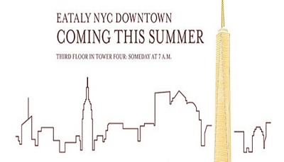 Eataly raddoppia a New York: nuova apertura al Ground Zero