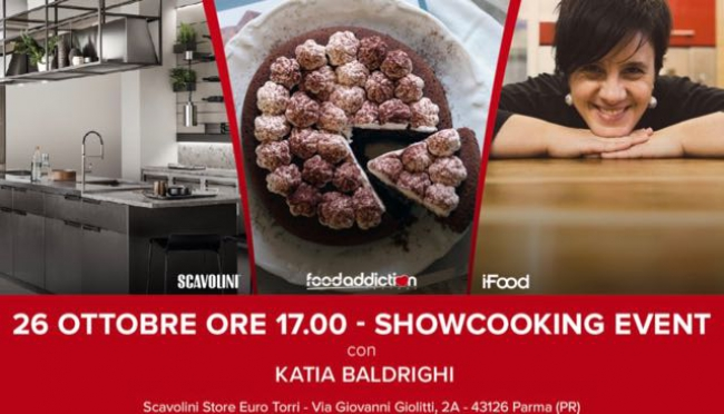 Show-cooking gratuito a Parma col tour FoodAddiction in Store