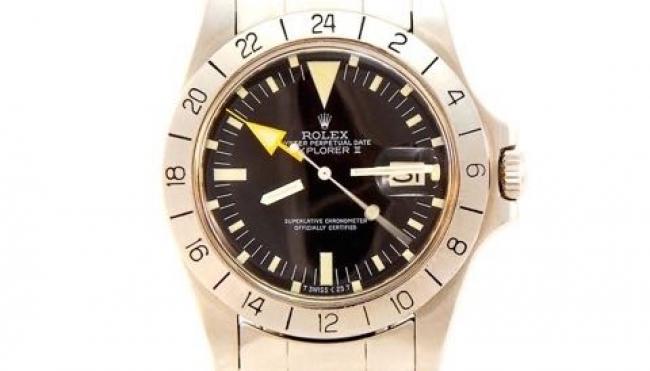 Rolex Explorer II. Un orologio di prestigio, originale e personale.