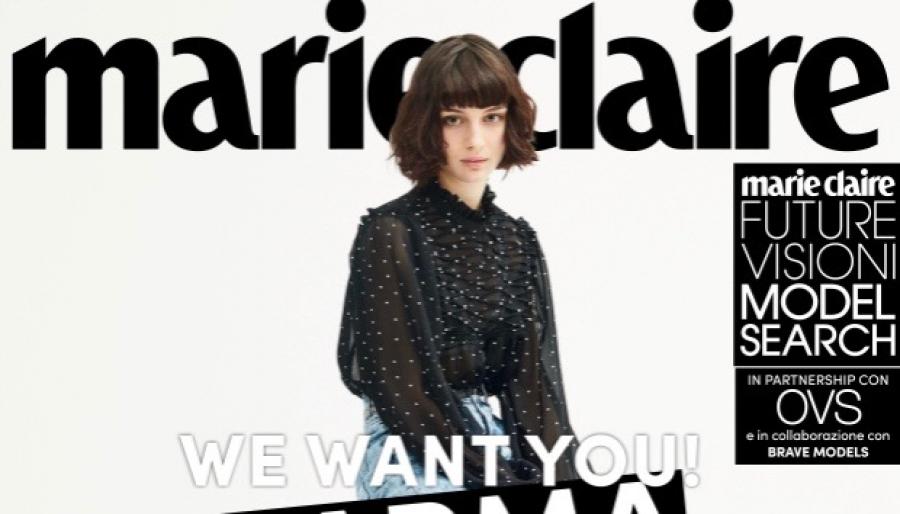 best loved 34b22 4f660 Nuovi volti della moda in Italia di Marie Claire: selezioni ...