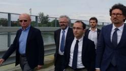 Rossi invita Toninelli a un impegno per il nuovo Ponte sul Po