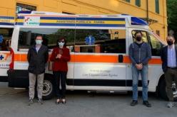 La Pubblica ha inaugurato una nuova ambulanza: la Papa 4