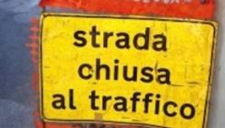 Chiusa al transito la Provinciale 84 da Carobbio a Rio Carzago