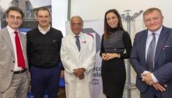 Studio sul mesotelioma pleurico, nuova strumentazione l'Istituto Tumori della Romagna grazie a Unicredit e IOR