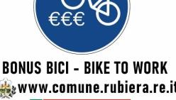 """Bando """"Bike To Work"""" Rubiera - Per contributi all'acquisto di biciclette e mezzi di trasporto non motorizzati"""