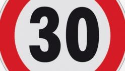 Limite dei 30 km/h sul ponte della Cavriana