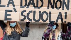 Anche a Parma dilaga la protesta degli studenti. (FOTO)