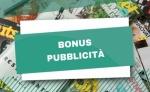 Credito di Imposta Bonus Pubblicità 2021