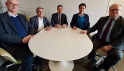 Bonifica Parmense: i sindaci di Montechiarugolo e di Compiano esordiscono nel Consiglio di Amministrazione