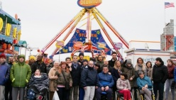Una mattina al Luna Park per i ragazzi con disabilità di Parma