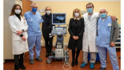 """Un ecografo da 20mila euro donato da """"Tutto per l'imballo"""" al reparto di Ostetricia e Ginecologia"""