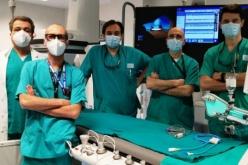 Ultrasuoni per sbriciolare le calcificazioni nelle coronarie: nuova tecnologia per la cardiologia interventistica del Maggiore