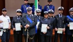 Parma - Cerimonia 198° Anniversario di Fondazione del Corpo di Polizia Locale