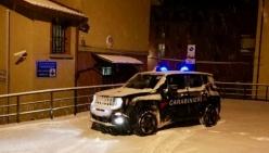 Allerta Neve, i carabinieri del comando di Bologna impegnati nella viabilità