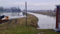 Post esondazione del Reno, i danni al Canale Emiliano Romagnolo stoppano l'irrigazione
