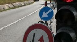 Riaperta a senso unico alternato con semaforo la Sp 13 a Vestola