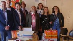 Calcio a 5 organizzato dall'Istituto Rondani: consegnati ad Emporio Solidale i prodotti acquistati con il ricavato