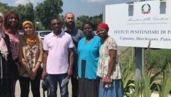 Volontari stranieri in servizio nel Carcere di Parma