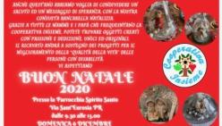 Solidarietà: il 6 dicembre con la Cooperativa Insieme alla parrocchia Spirito Santo