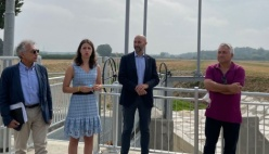 Bonifica Parmense, inaugurato il nuovo nodo idraulico del Gambalone a servizio del territorio (Video e Galleria foto)