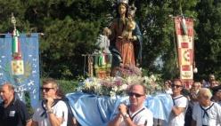 Anche il Comune di Piacenza, con il consigliere Sergio Pecorara, alla processione dell'Assunta di Cremona