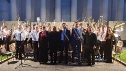 La Banda Giuseppe Verdi di Busseto ai Musei Vaticani e in Piazza della Signoria a Firenze
