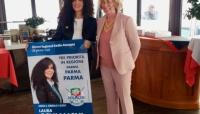 Stefania Craxi a Parma per sostenere Laura Schianchi