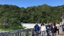 Visita tecnica internazionale alla diga del Molato