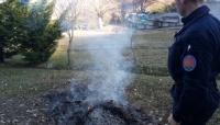 Carabinieri Forestali: attenzione agli incendi boschivi, sanzioni per l'accensione di residui vegetali effettuati senza le necessarie comunicazioni.