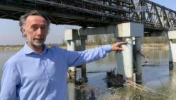 Crisi idrica - Livello del Po: ora fino a 45% di portata in meno (video dichiarazione)
