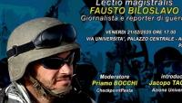 Gli occhi della guerra, incontro con il reporter Fausto Biloslavo a Parma il 21 febbraio