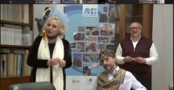 La premiazione del contest SFIDE-ANBI ER con Maria Pia Timo e Francesco Damiano diventa uno show online per gli studenti della nostra regione