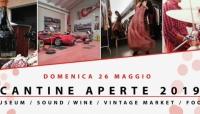 Cantine Aperte: domenica alla Cantina Museo Giacobazzi tra buon vino, musica e motori