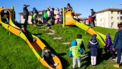 Nuovo parco a San Prospero: un'area verde attrezzata con giochi per bambini