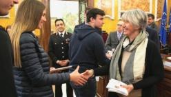 Consegna della Costituzione della Repubblica italiana agli studenti
