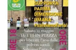 I Verdi di Parma in piazza per salvare l'aria