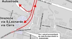 Parma: modifiche alla viabilità per fluidificare il traffico in prossimità del casello A1