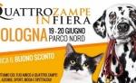 Domani a Bologna, per la prima volta, arriva Quattrozampeinfiera divertimento per cani e proprietari, all'aperto e in totale sicurezza: 19 e 20 giugno